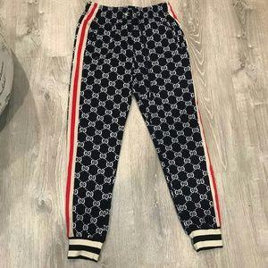 Gucci Navy Blue Sweatpants XXL